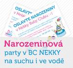 Narozeninová party v BC NEKKY